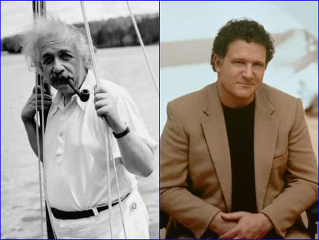 Albert Einstein is listed (or ranked) 8 on the list Famous People with the Same Real Name