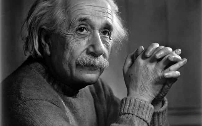 Albert Einstein is listed (or ranked) 4 on the list People Who Most Deserve Biopics (But Don't Have One Yet)
