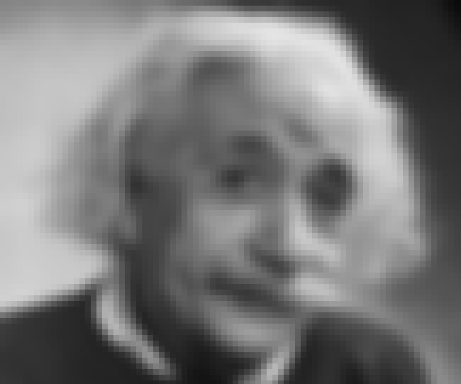 Albert Einstein is listed (or ranked) 1 on the list Famous Male Mathematicians