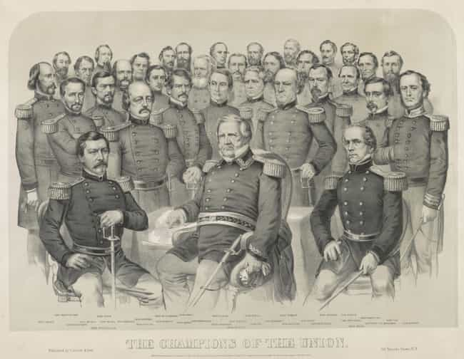 Albert Gallatin Edwards ... is listed (or ranked) 2 on the list West Point Goats In The Civil War