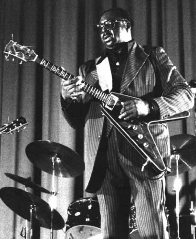 Albert King is listed (or ranked) 3 on the list Famous Left Handed Guitarists