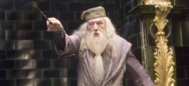 Professor Albus Dumbledo... is listed (or ranked) 2 on the list Which Fictional Wizard Would Win In A Magical Mega-Duel?