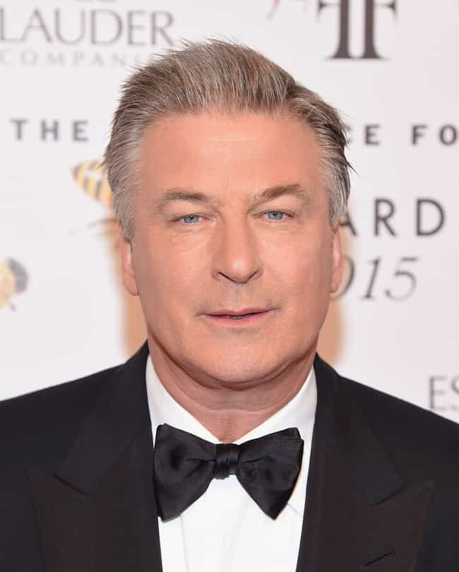 Alec Baldwin is listed (or ranked) 1 on the list 12 Celebrities You Might Run Into While Flying Coach