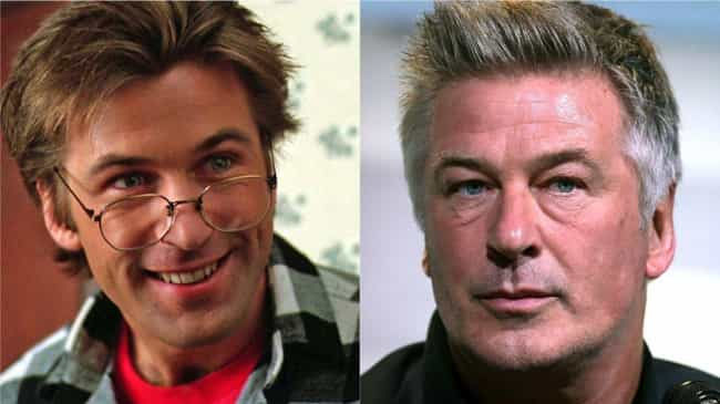 Alec Baldwin is listed (or ranked) 4 on the list How 30 A-Listers Changed Over Time