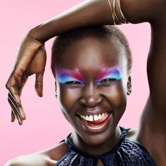 Alek Wek is listed (or ranked) 3 on the list Famous African American Models