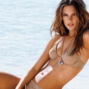 Alessandra Ambrosio is listed (or ranked) 18 on the list The Most Beautiful Celebrities Of Our Time