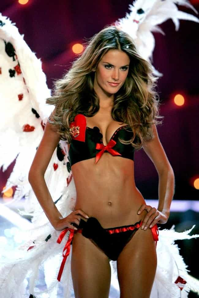 Alessandra Ambrosio is listed (or ranked) 4 on the list Victoria's Secret's Most Stunning Models, Ranked