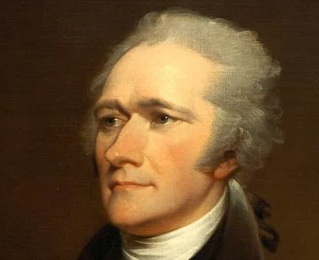 Alexander Hamilton is listed (or ranked) 1 on the list The 50 Hottest Founding Fathers