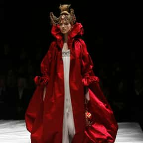 Alexander McQueen is listed (or ranked) 5 on the list The Most Influential Fashion Designers Of All Time
