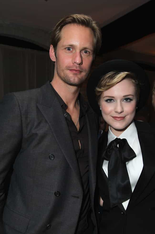 Alexander Skarsgård is listed (or ranked) 4 on the list Evan Rachel Wood's Loves & Hookups