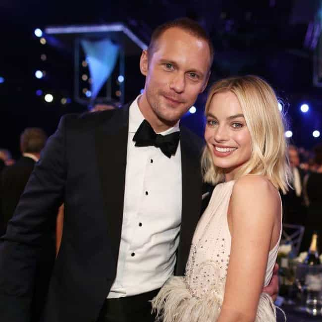 Alexander Skarsgår... is listed (or ranked) 3 on the list Margot Robbie Loves and Hookups