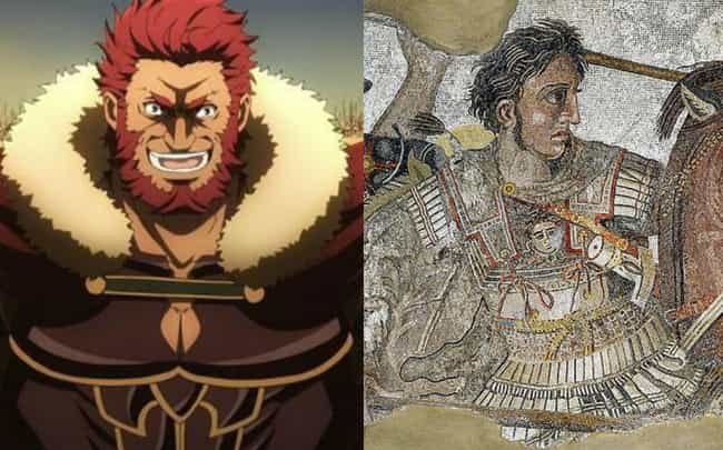 Alexander the Great is listed (or ranked) 2 on the list Historical Figures Who Show Up In The Fate Series