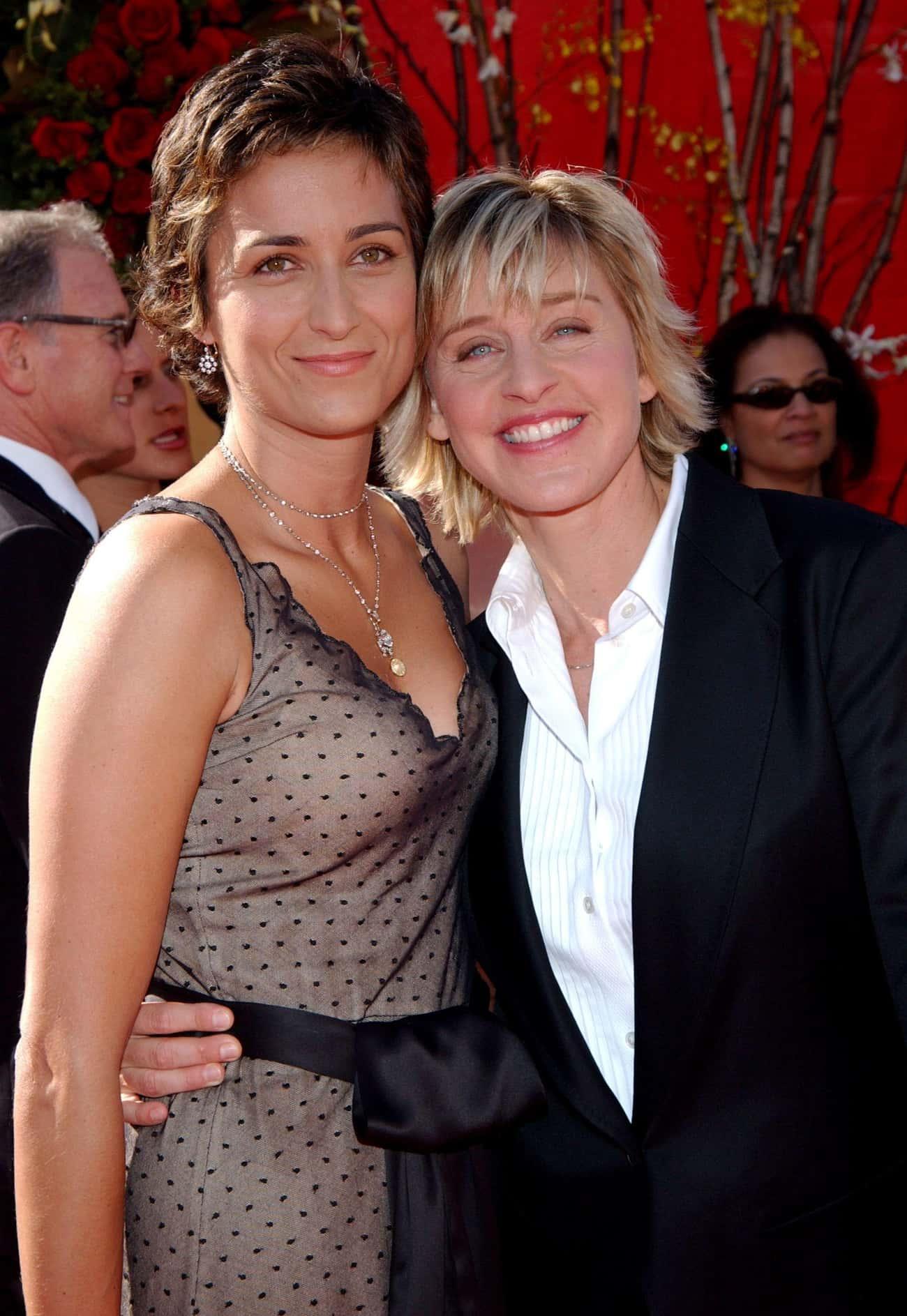 Anne Heche Says Romance With Ellen DeGeneres Got Her Fired