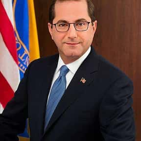 Alex Azar is listed (or ranked) 10 on the list The Current Presidential Line of Succession