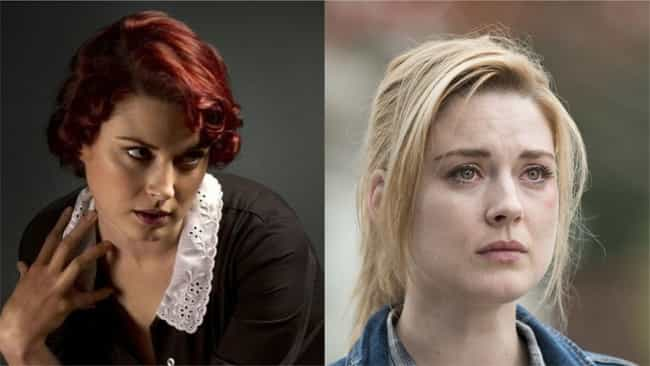 Alexandra Breckenridge ... is listed (or ranked) 2 on the list Where You've Seen 'The Walking Dead' Actors Before