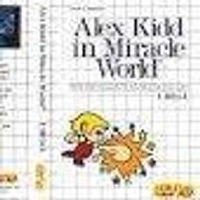 Alex Kidd in Miracle World is listed (or ranked) 3 on the list List of Sega Platform Games