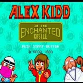 Alex Kidd in the Enchanted Cas is listed (or ranked) 5 on the list List of Sega Platform Games