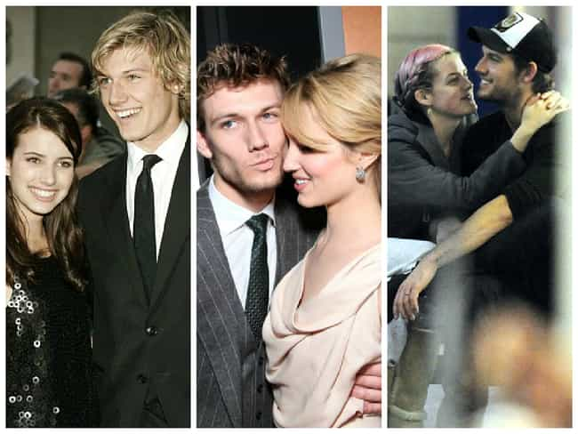 Alex Pettyfer is listed (or ranked) 3 on the list Celebrities Who Frequently Date Their Co-Stars