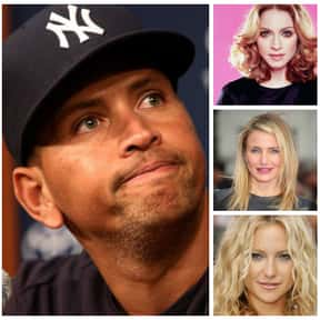 Alex Rodriguez is listed (or ranked) 8 on the list The Biggest Manwhores in the Entertainment Industry