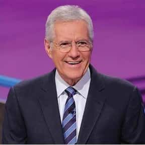 Alex Trebek is listed (or ranked) 1 on the list The Game Show Hosts With The Most