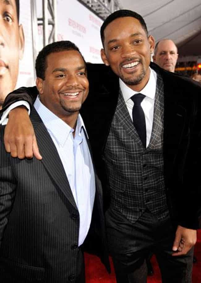 Alfonso Ribeiro is listed (or ranked) 2 on the list Famous Friends of Will Smith