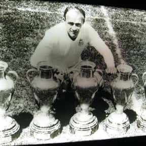 Alfredo Di Stéfano is listed (or ranked) 2 on the list The Best Real Madrid Players Of All Time, Ranked