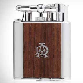 Alfred Dunhill is listed (or ranked) 5 on the list The Best Lighter Brands