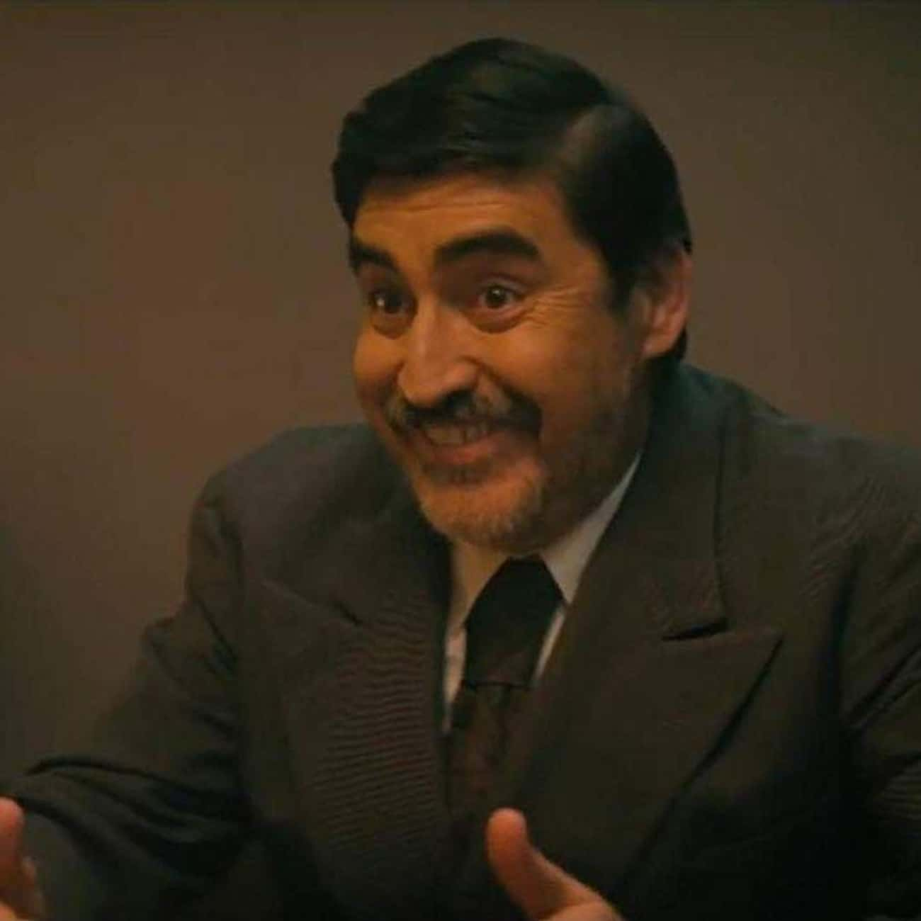 Alfred Molina is listed (or ranked) 4 on the list Every Single Celebrity Who Has Guest Starred on Drunk History