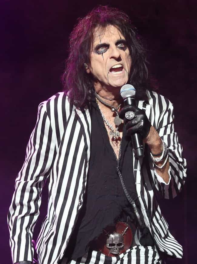 Alice Cooper is listed (or ranked) 2 on the list 40 Famous Children of Pastors And Ministers