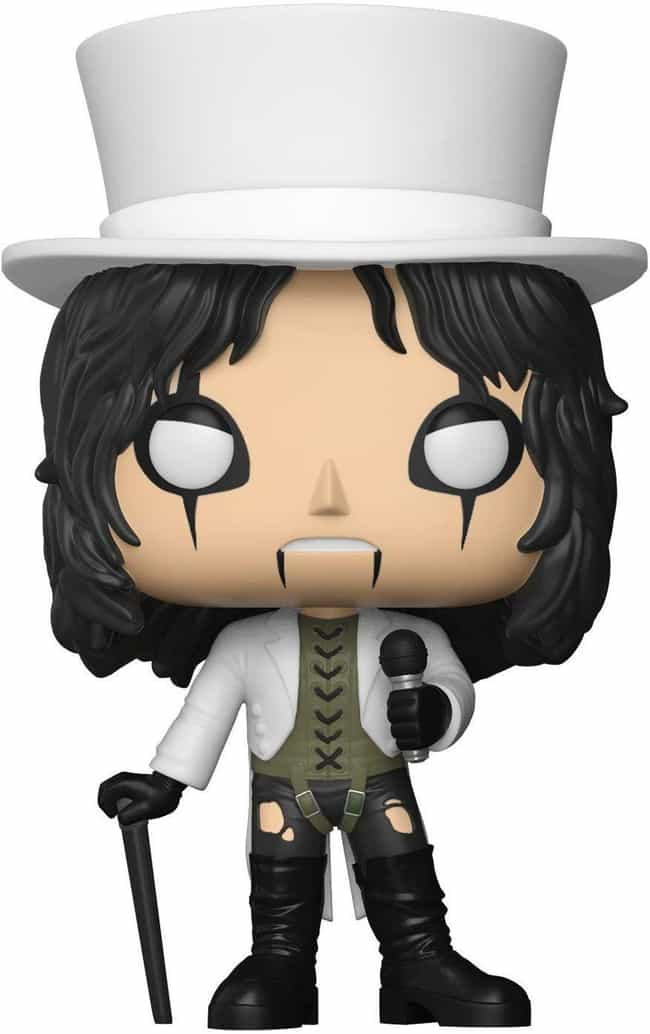 Alice Cooper is listed (or ranked) 1 on the list The Hardest Hard Rock And Metal Band Funko Pops
