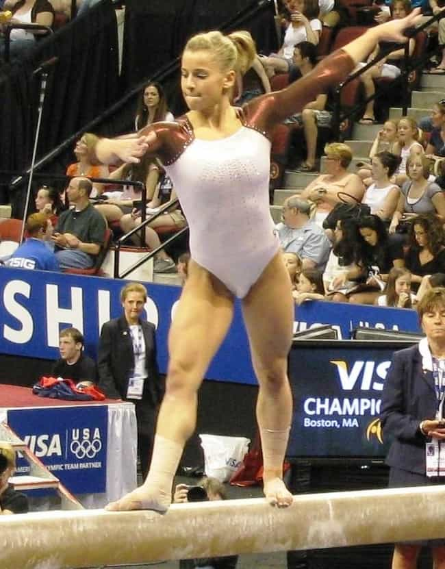 Alicia Sacramone is listed (or ranked) 3 on the list Athletes Who Went to Ivy League Schools