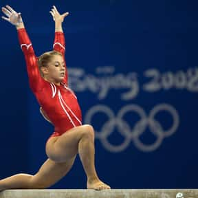 Alicia Sacramone is listed (or ranked) 3 on the list List of Famous Gymnasts