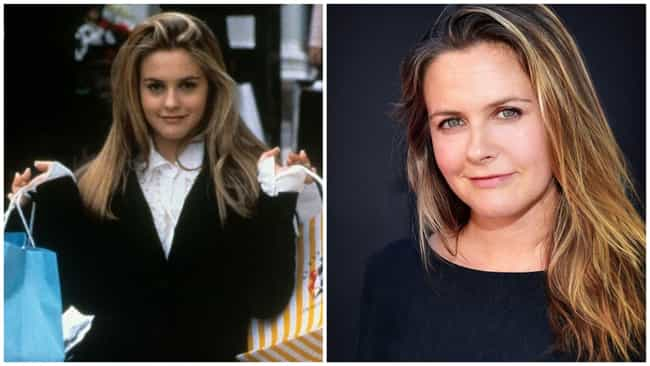 Alicia Silverstone is listed (or ranked) 2 on the list Your Childhood Crushes (Then And Now)