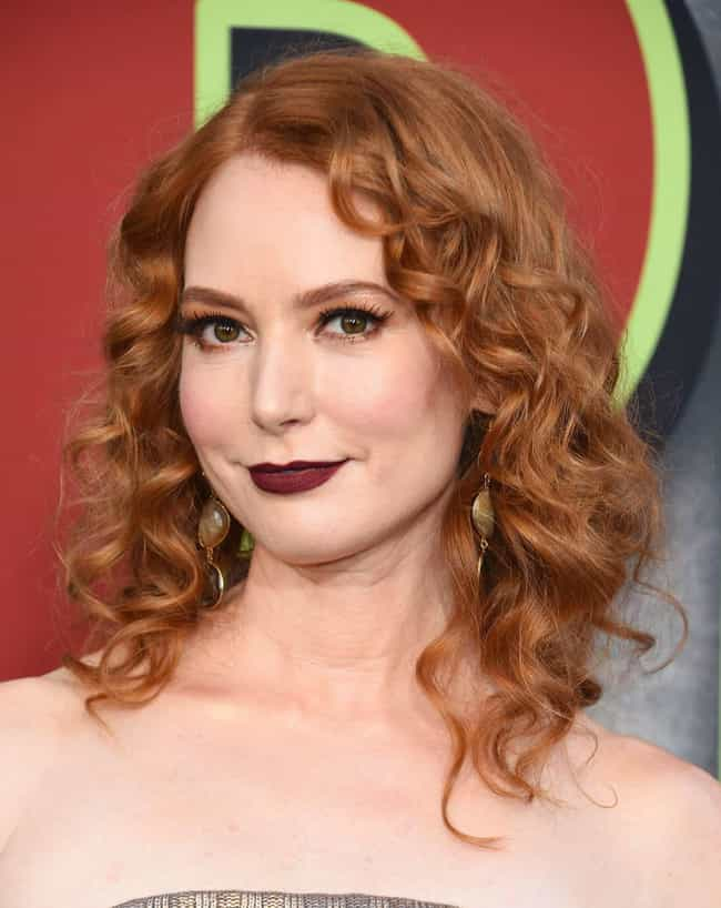 Alicia Witt is listed (or ranked) 20 on the list The Most Attractive Redheads Ever