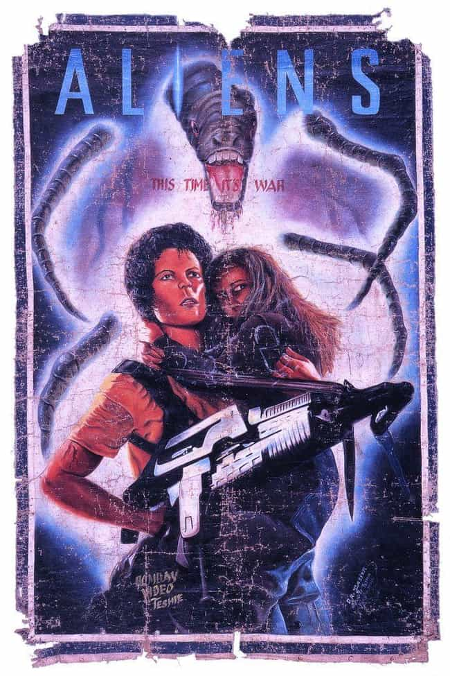 Aliens is listed (or ranked) 4 on the list These Hand-Painted Movie Posters From Ghana Are Just Nuts