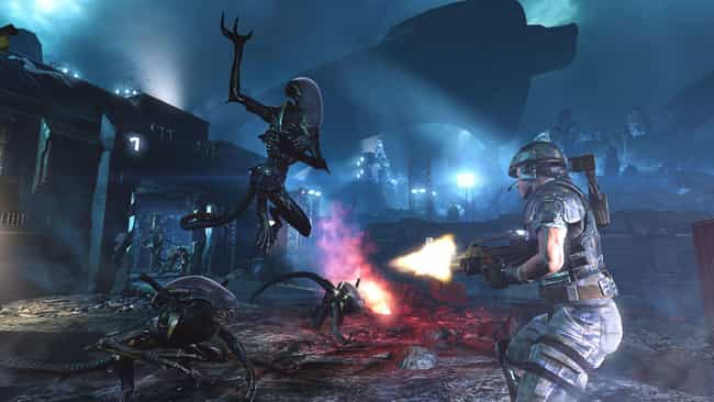 Aliens: Colonial Marines is listed (or ranked) 4 on the list The Worst Video Games From The Most Acclaimed Franchises