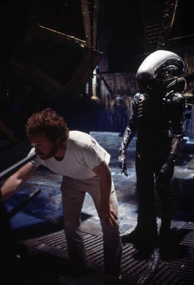 Alien is listed (or ranked) 4 on the list 35 Awesome Behind the Scenes Pictures of Movie Monsters