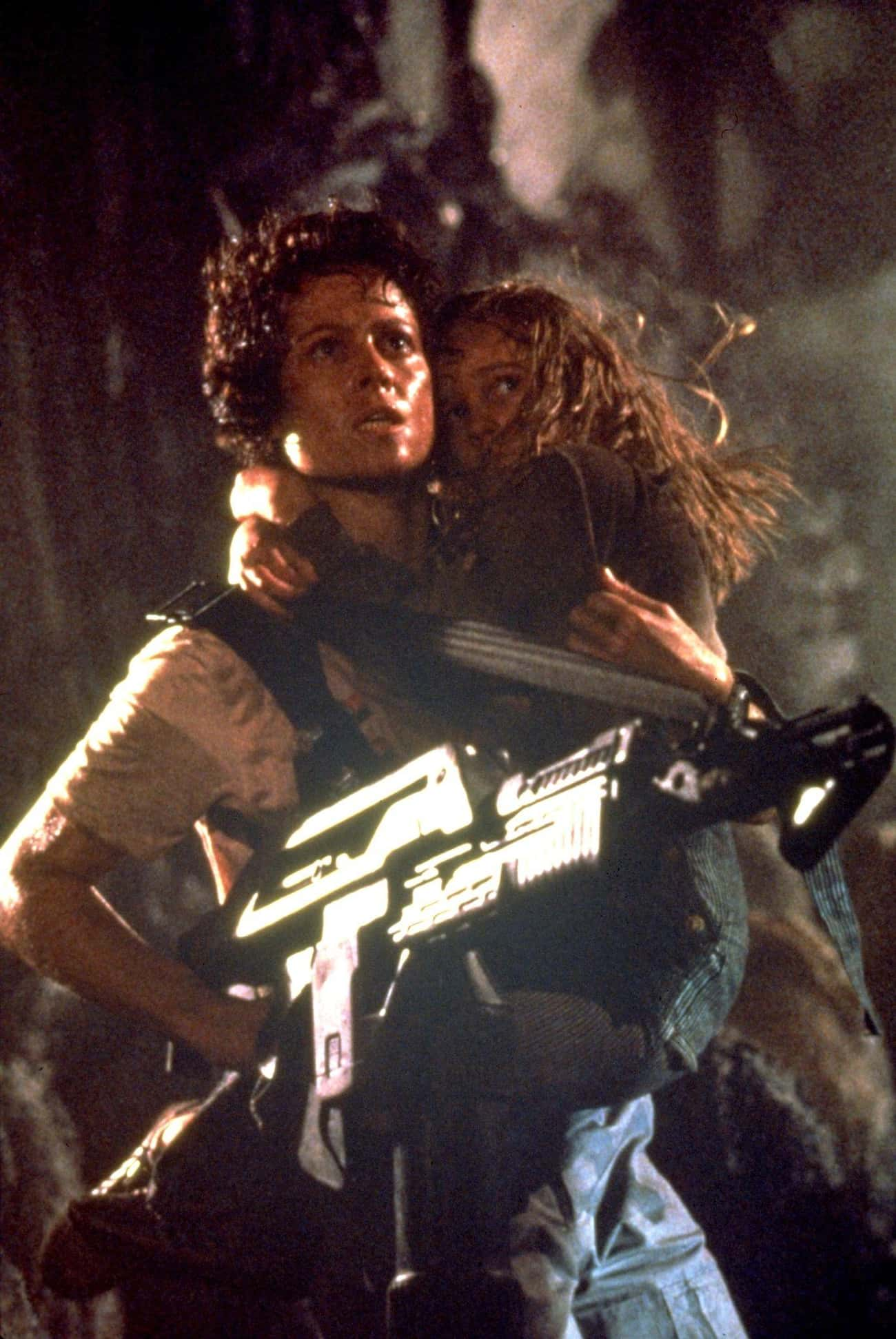 Aliens is listed (or ranked) 3 on the list Movies with the Most Hardcore Women