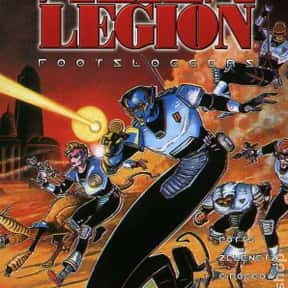 Alien Legion is listed (or ranked) 1 on the list Famous Epic Comics Titles