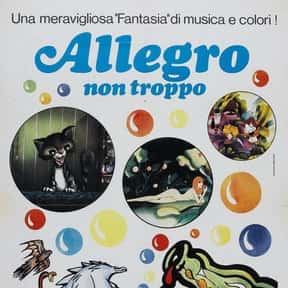 Allegro Non Troppo is listed (or ranked) 24 on the list The Best 70s Cartoon Movies