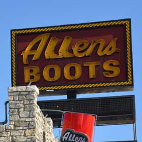 Allens Boots is listed (or ranked) 3 on the list Companies Founded in Austin