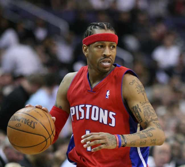 Allen Iverson is listed (or ranked) 4 on the list 26 Athletes Who Went Completely Broke