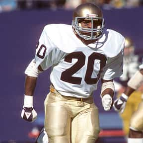 Allen Pinkett is listed (or ranked) 9 on the list The Best Notre Dame Fighting Irish Running Backs of All Time
