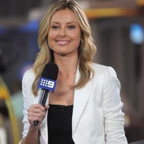 Allison Langdon is listed (or ranked) 18 on the list Famous Journalists from Australia