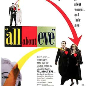 All About Eve is listed (or ranked) 1 on the list The Best Bette Davis Movies