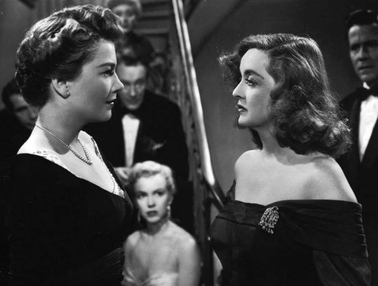 Anne Baxter & Bette Davis - Be is listed (or ranked) 3 on the list Every Time Film Costars Were Both Nominated For Leading Role Oscars