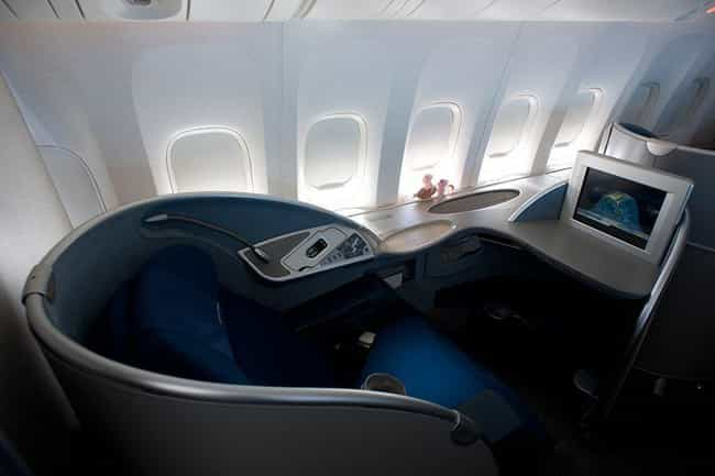 All Nippon Airways is listed (or ranked) 4 on the list What First Class Looks Like on Different Airlines