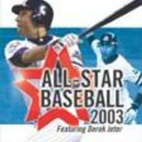 All-Star Baseball 2003 is listed (or ranked) 9 on the list List of Gamecube Games