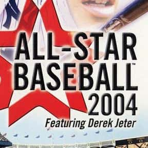 All-Star Baseball 2004 is listed (or ranked) 10 on the list List of Gamecube Games