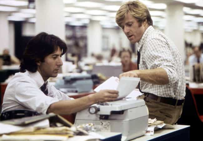 All the President's Men ... is listed (or ranked) 3 on the list The Most Famous Film That Took Place The Year You Were Born